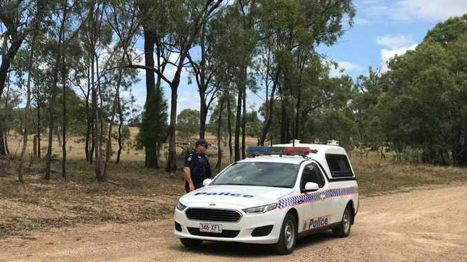 Man lights fire inside property during Southern Downs siege