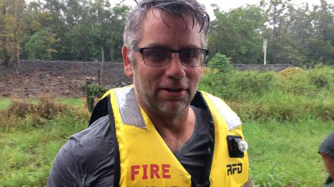 'I didn't panic at all': Sydney man after floodwater rescue