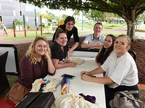 USC Fraser Coast orientation day - (L) Grace
