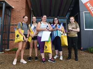 USC Fraser Coast orientation day - (L) Jess Chapman