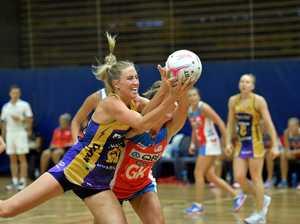 Sunshine Coast Lightning against Sydney Swifts