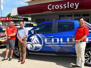 Crossley Holden manager recognised
