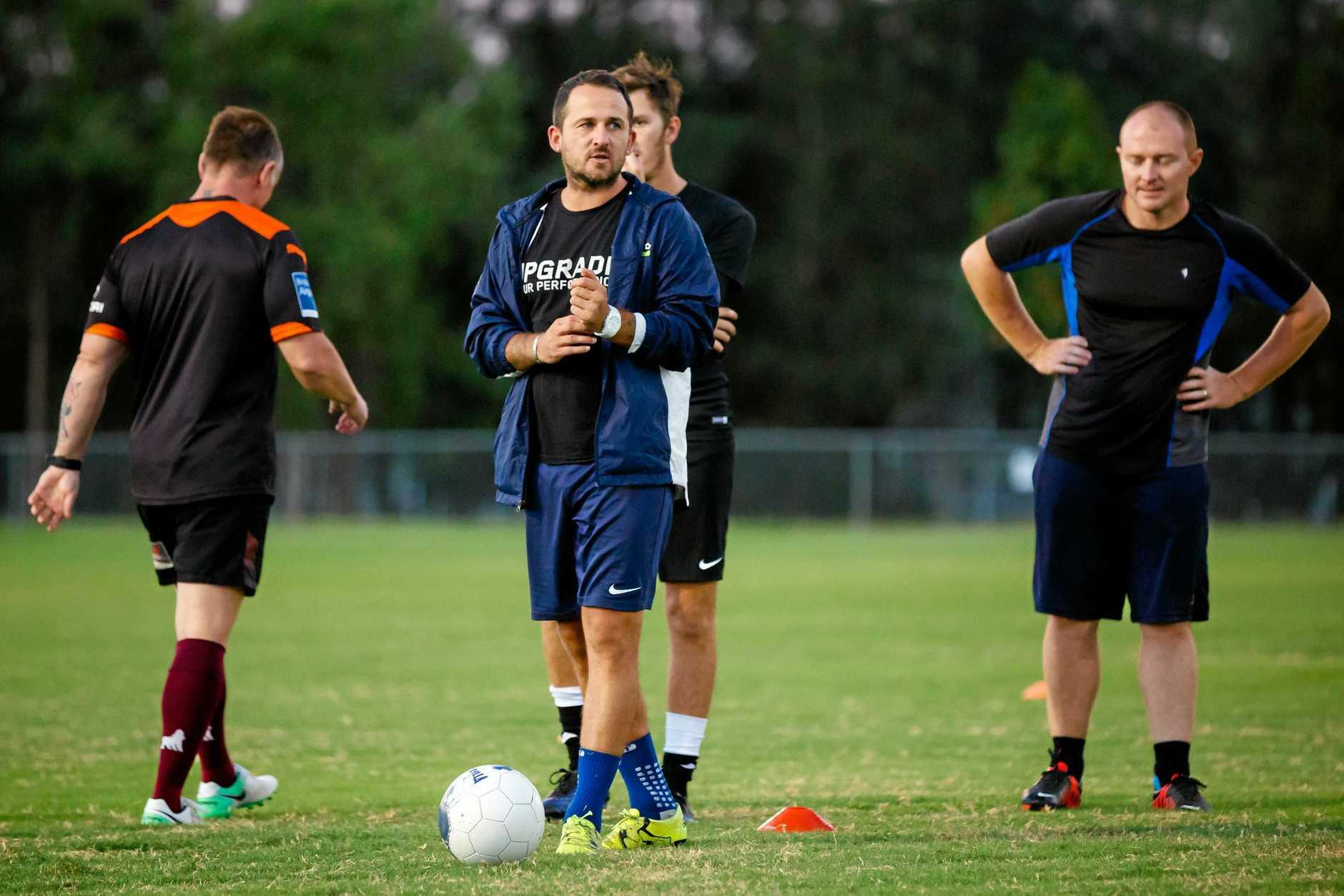 Football Gympie United - Kyle Nix Coach
