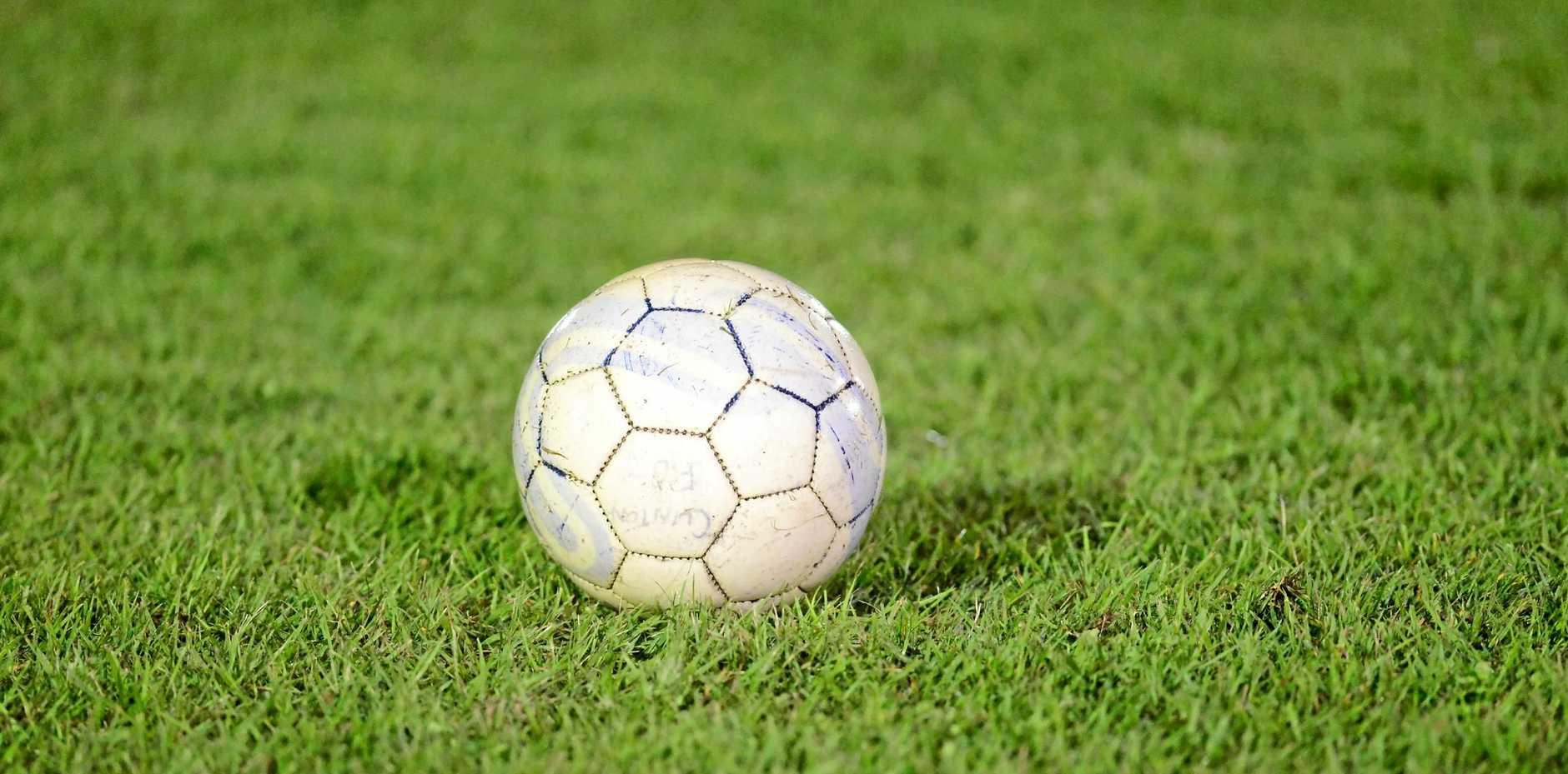 Soccer ball. Photo Brenda Strong / The Observer