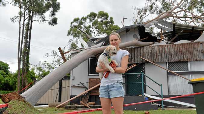Moranbah residents describe carnage after freak storm