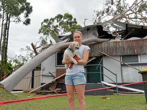Moranbah residents describe carnage after freak storm