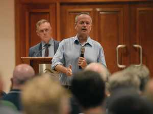 Shorten shares his CQ vision to a packed town hall meeting