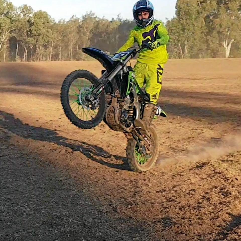 Brent Carrow died following a motorcycle crash at Bellbird Park on Monday.