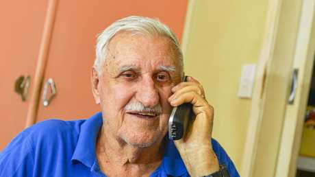 NO HELP IN CRISIS: Ken Bauer, 86, doesn't want the NBN.