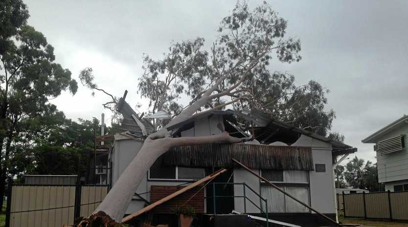 Homes and schools all over Moranbah were heavily damaged due to the strong winds experienced over Tuesday night.