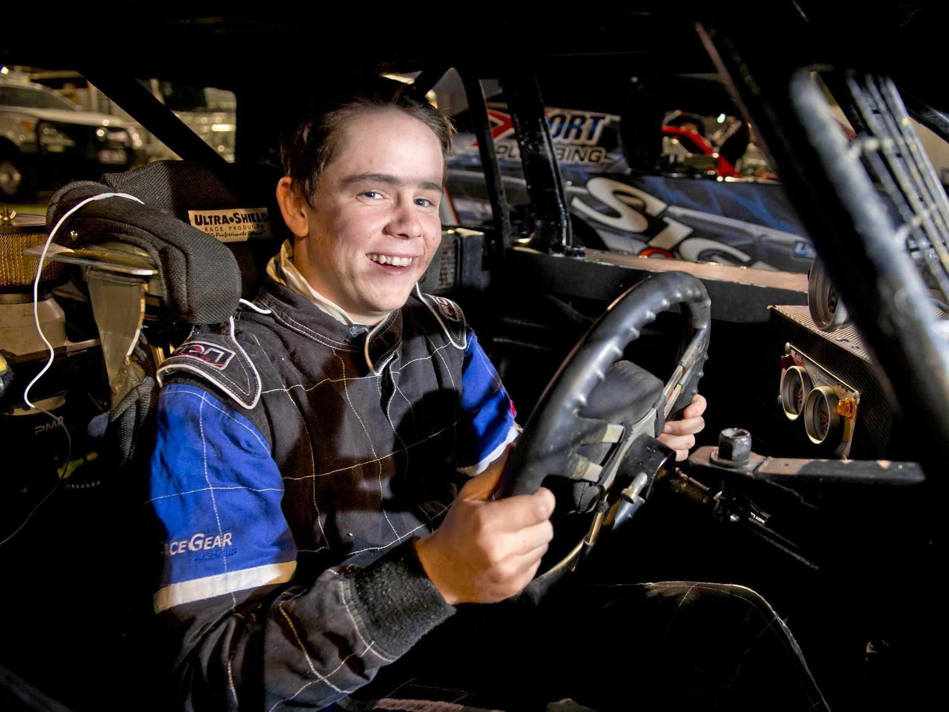 Joel Curd, behind the wheel in 2016