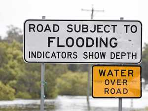 Flooding on Pialba Burrum Heads Rd before Toogoom turnoff.