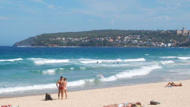 Manly beach, stunning yeah? Picture: Jo3ung