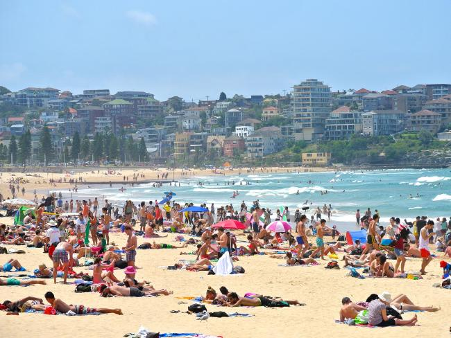 Manly beach has been named Australia's best. Picture: Jason Tong