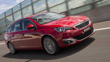 Inspired: Peugeot's 308 Touring wagon