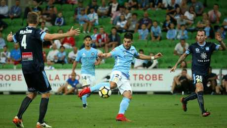 Bruno Fornaroli made his long-awaited return from injury on February 10. Picture: AAP