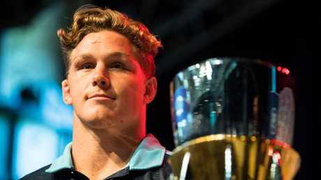 Michael Hooper will lead the Tahs' engine room. Picture: RUGBY.com.au/Stuart Walmsley