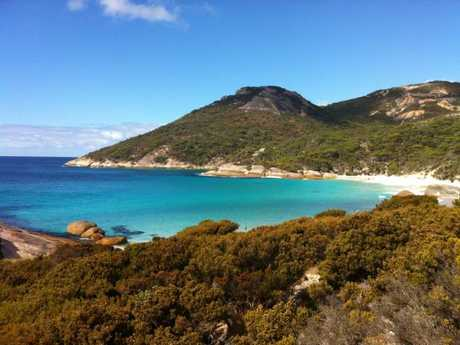 Yep, Little Beach in WA is stunning. Picture: Kate Schneider