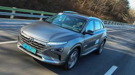 On test in Korea: The Nexo's on course to be the first hydrogen fuel-cell passenger car to sell in Australia.