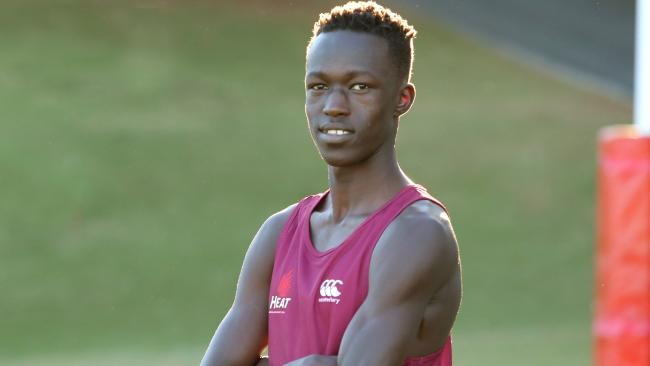 Joseph Deng's Commonwealth Games 800m spot is in jeopardy. Picture: Jono Searle