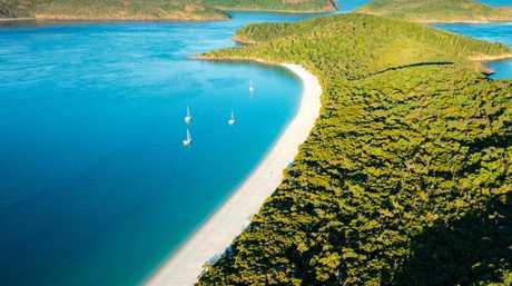 Whitehaven Beach — no longer Australia's best.