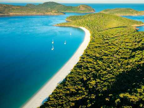 Whitehaven Beach — no longer Australia's best.