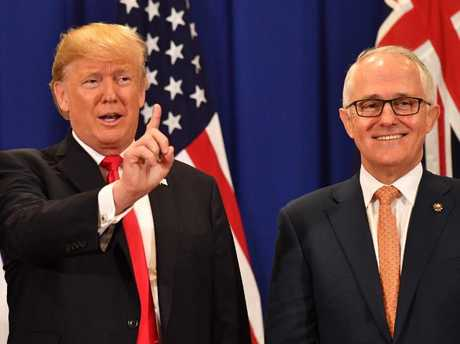 Trump, Turnbull pledge to confront N. Korea over nuclear weapons pursuits