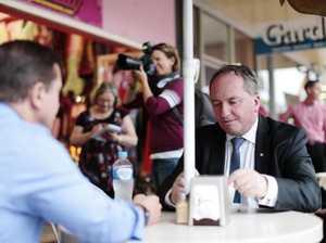 Wide Bay, Hinkler MPs comment after Joyce resignation