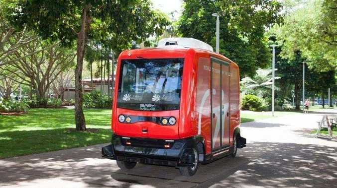Driverless buses take off in Ipswich