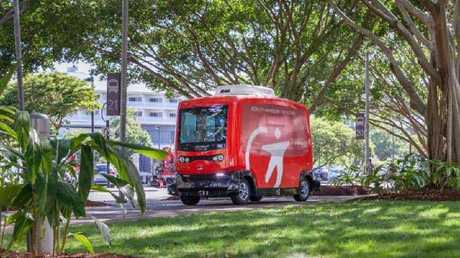 Driverless buses will take off from Orion Lagoon next week. Locals can hop on for a free ride.