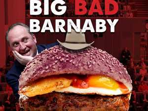 Eatery serving up 'Big Bad Barnaby' burger