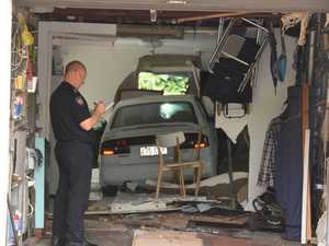 'There's a car in my kitchen' Severe damage to Coast home