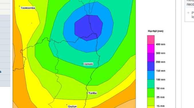 WARNING: Heavy rainfall, possible flash flooding