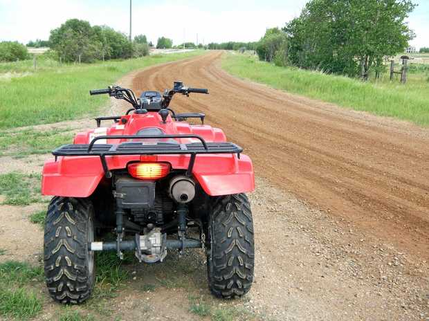 BAN CALL: A surgeon has spoken out on the dangers of children riding quad bikes.
