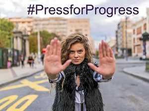 #Press for Progress on International Women's Day