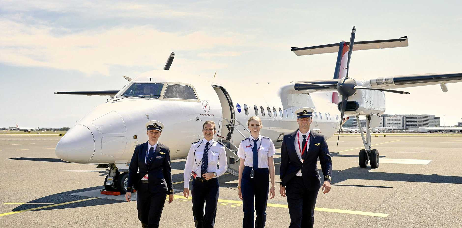 SMOOTH LANDING: Bundaberg is the perfect place for Qantas to establish a pilot academy capable of training up to 500 pilots a year, to help meet the increasing need for skilled aviators in one of the fastest-growing global industries.