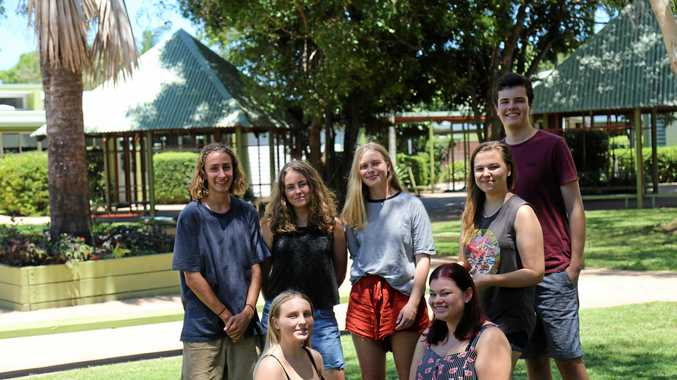 SHARP: Sunshine Beach State High School graduates pass on advice to current senior students.