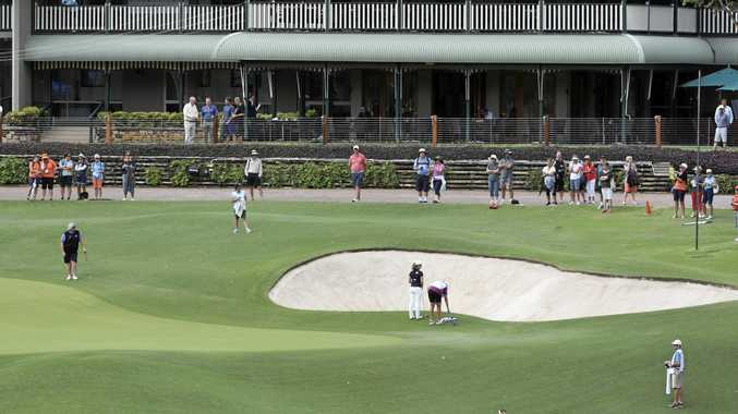 Bonville Golf Resort's layout has proven quite a challenge for the crack field on the opening two days of the Australian Ladies Classic - Bonville.