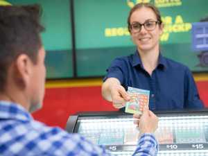 Bay man $10,000 richer after scratching a winner