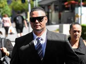 Liam Rawhiti Bliss and supporters leaving court
