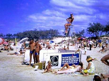 Beach patrols, ca 1966.