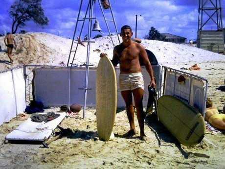 Beach patrols, circa 1966.