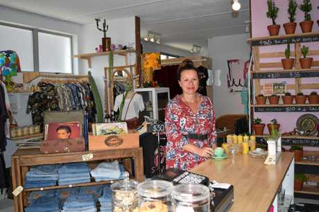 Lucy Roberts loves finding treasures for her new store, Cactus Lane.