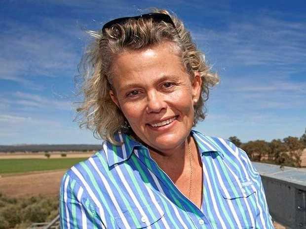 National Farmers' Federation president Fiona Simpson.