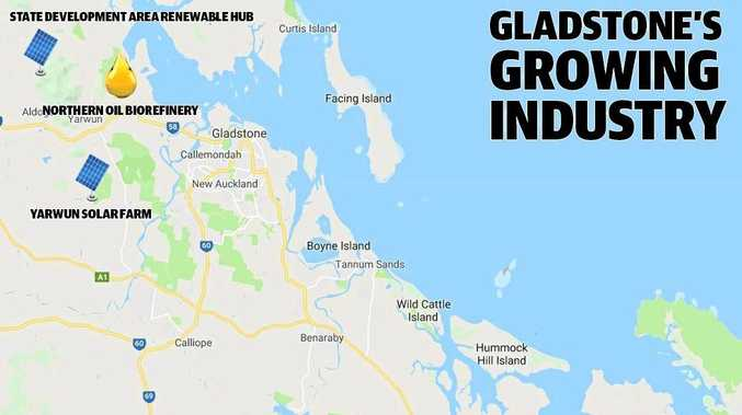 Gladstone could be home to three solar farms by the end of next year, at Aldoga, Yarwun and Rodds Bay.