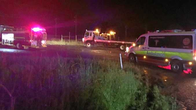 Couple escape from car caught in Gympie creek