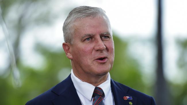 Nationals MP Michael McCormack is the new Nationals leader. Picture: Keri Megelus.