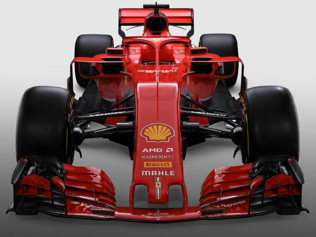 The new Ferrari SF71H.