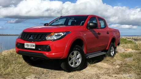 The Mitsubishi Triton GLX+ may not win a beauty contest but it's the best value below $35,000. Picture: Joshua Dowling