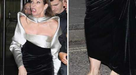 Allison Janney chose comfort over style after the Awards. Picture: MagicMomentsUK